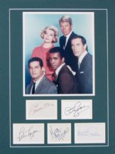 Mission Impossible Cast Autograph Signed Display